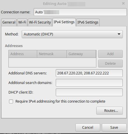 Add DNS IPs
