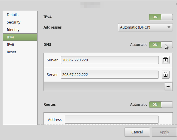 How To Change Dns In Linux Mint Connect to Google Public DNS